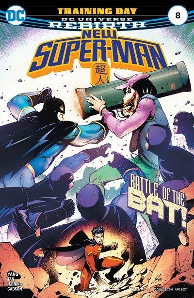 New Super-Man #8 (2017)