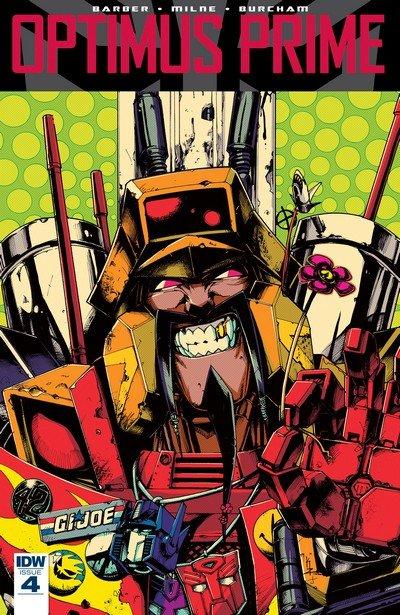 Optimus Prime #4 (2017)