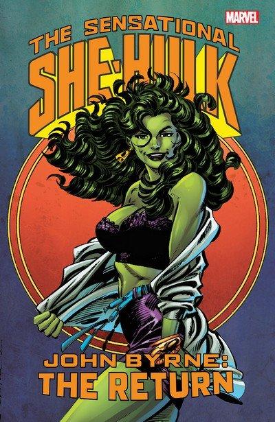Sensational She-Hulk by John Byrne – The Return (2016)