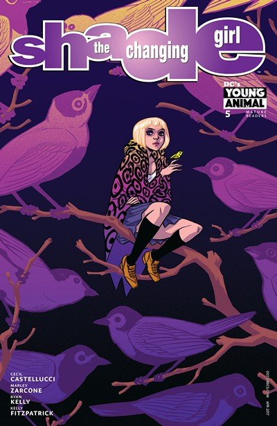 Shade – the Changing Girl #5 (2017)