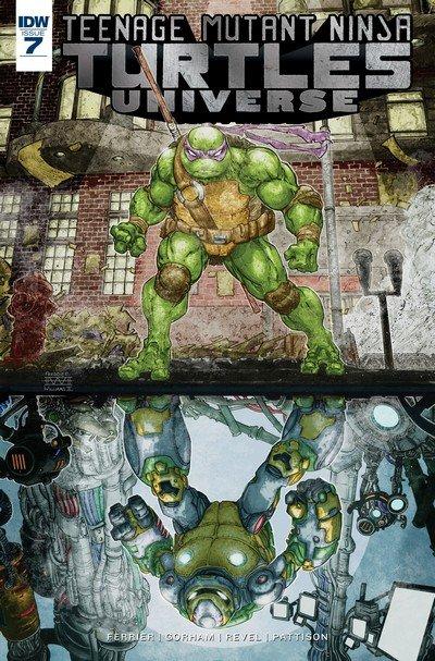 Teenage Mutant Ninja Turtles Universe #7 (2017)