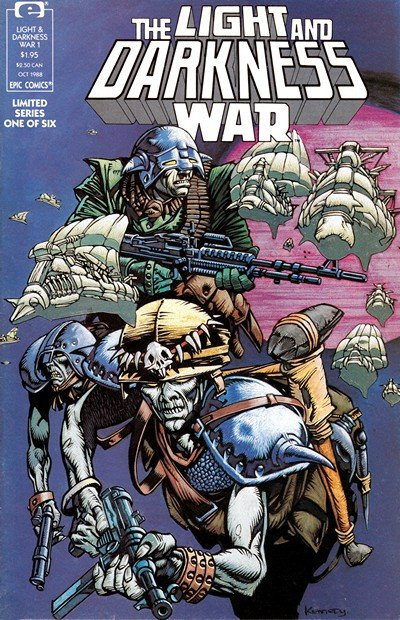 The Light and Darkness War #1 – 6 (1988-1989)