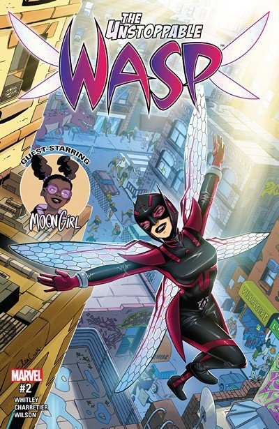 The Unstoppable Wasp #2 (2017)