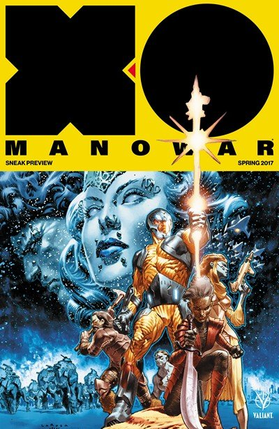 X-O Manowar (2017) Spring Preview (2017)