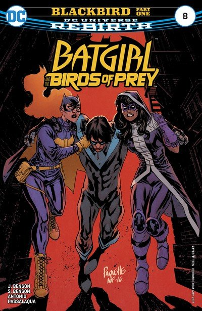 Batgirl and the Birds of Prey #8 (2017)