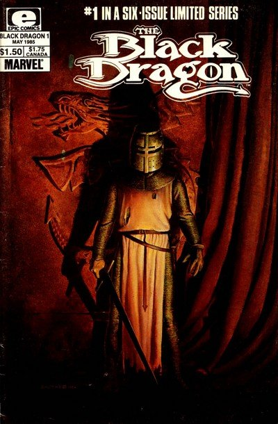 Black Dragon Vol. 1 #1 – 6 (1985)