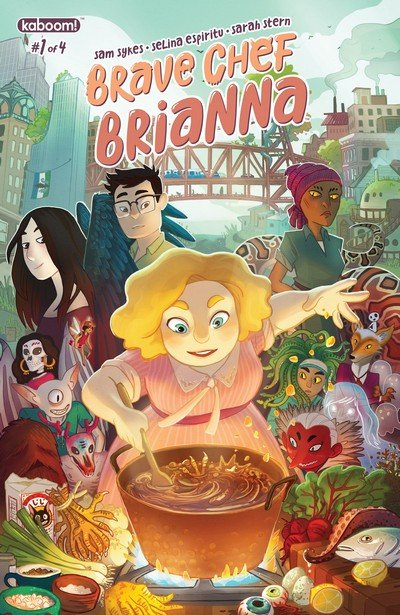 Brave Chef Brianna #1 (2017)