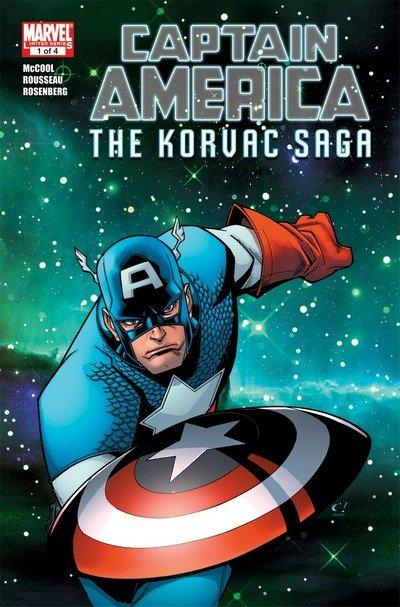 Captain America & the Korvac Saga #1 – 4 (2011)
