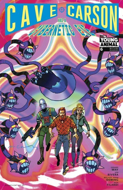 Cave Carson Has a Cybernetic Eye #6 (2017)