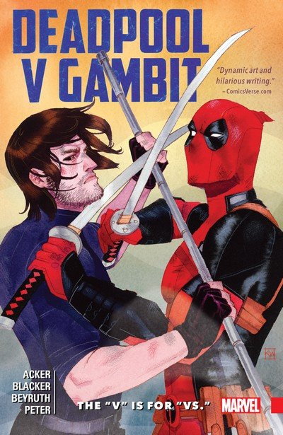 Deadpool v Gambit – The V is for Vs. (TPB) (2016)