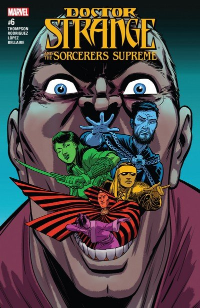 Doctor Strange and the Sorcerers Supreme #6 (2017)