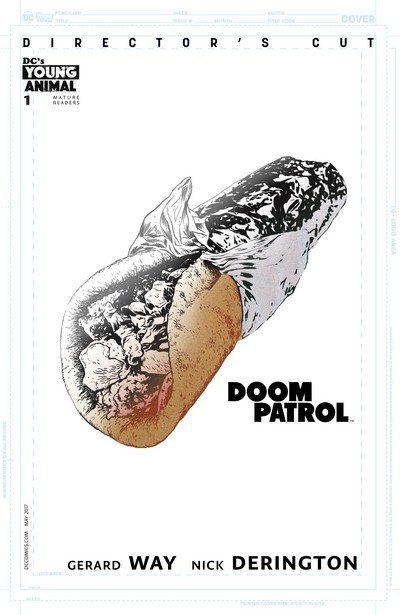 Doom Patrol #1 Director's Cut (2017)