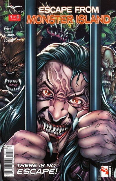 Escape From Monster Island #1 – 6 (2016)