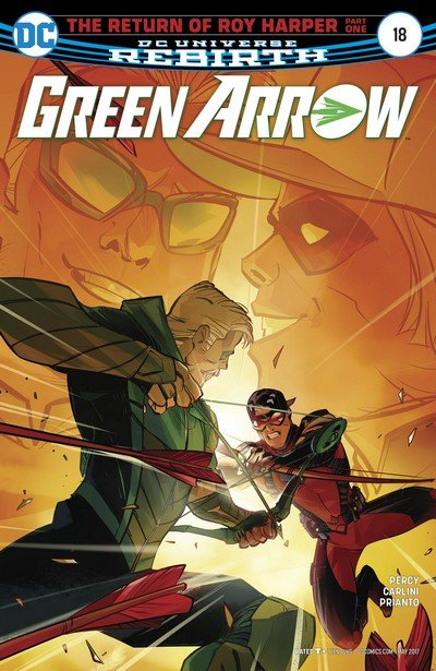 Green Arrow #18 (2017)