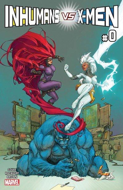 Inhumans vs. X-Men #1 – 6 (2017)