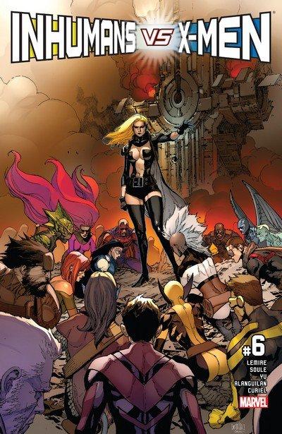 Inhumans vs. X-Men #6 (2017)