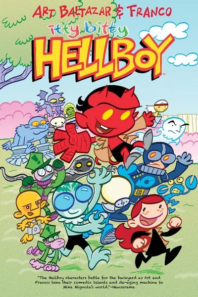 Itty Bitty Hellboy (2014)