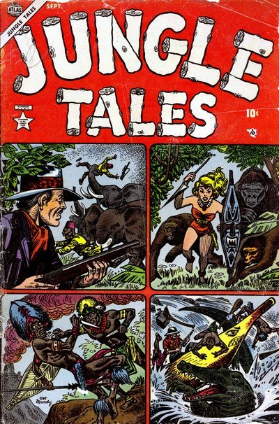 Jungle Tales #1 – 7 (1954-1955)