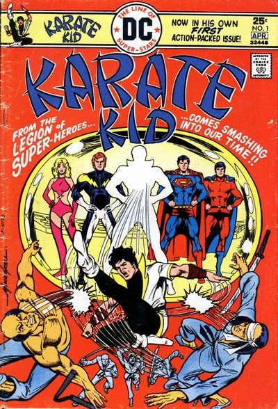 Karate Kid #1 – 15 (1976-1978)