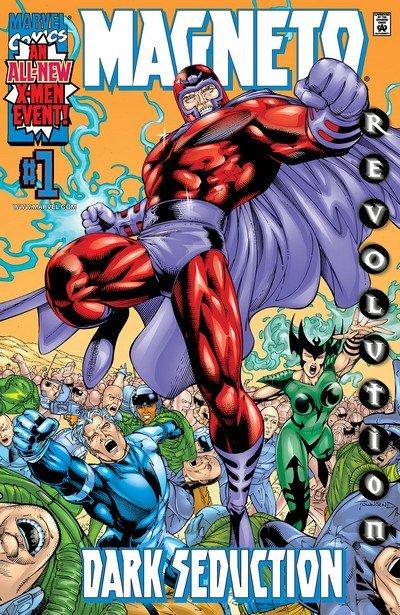 Magneto – Dark Seduction #1 – 4 (2000)