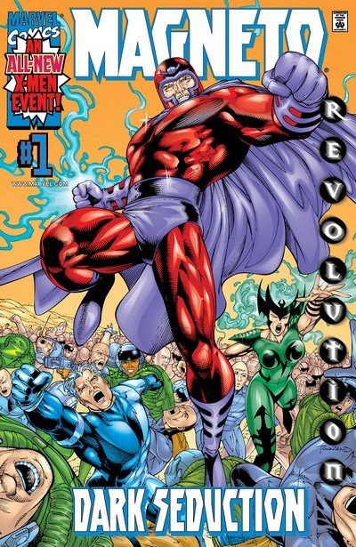 Magneto – Dark Seduction #1 – 4 (2000)