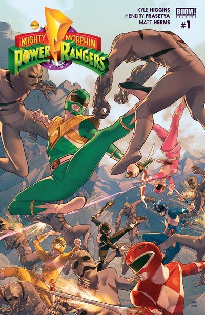 Mighty Morphin Power Rangers #0 – 12 + Annual #1 (2016-2017)