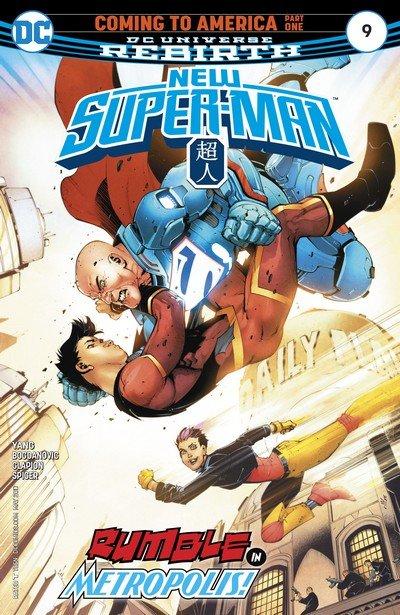 New Super-Man #9 (2017)
