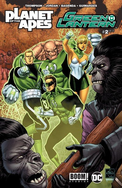 Planet of the Apes – Green Lantern #2 (2017)