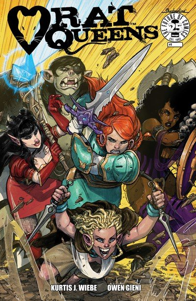 Rat Queens Vol. 2 #1 (2017)