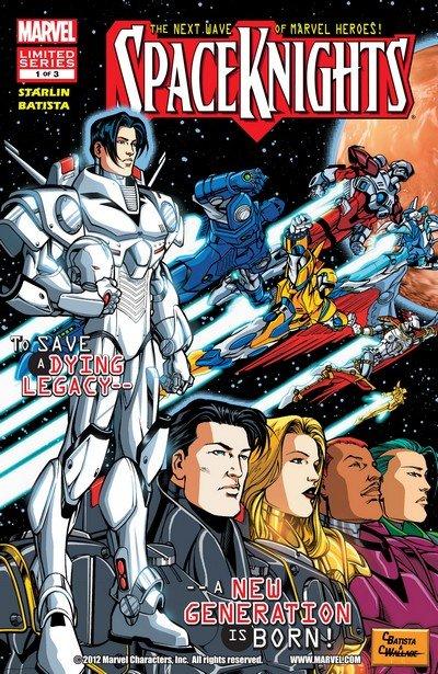 Spaceknights #1 – 3 (2012-2013)