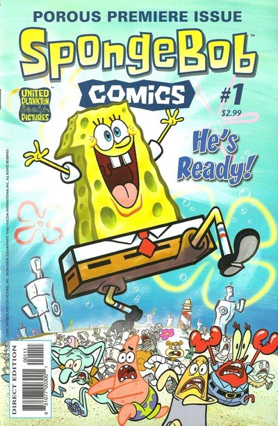 SpongeBob Comics #1 – 66 (2011-2017)