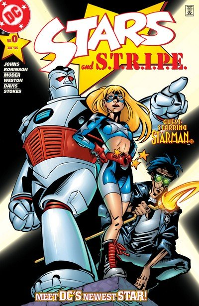 Stars and S.T.R.I.P.E. #0 – 14 (1999-2000)