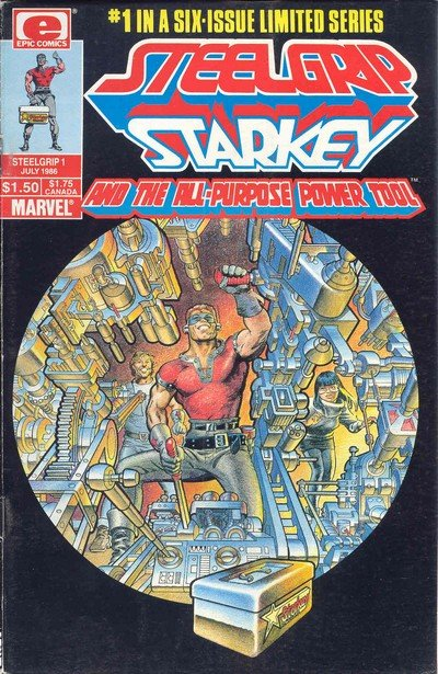 Steelgrip Starkey Vol. 1 #1 – 6 (1986-1987)