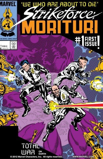 Strikeforce Morituri Vol. 1 #1 – 31 + TPBs (1987-1989)