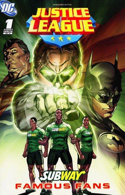Subway Presents – Justice League #1 – 4 (2011)