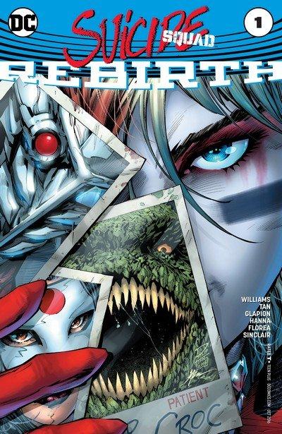 Suicide Squad Vol. 5 (Rebirth) #1 – 50 + TPBs + Extras (2016-2019)
