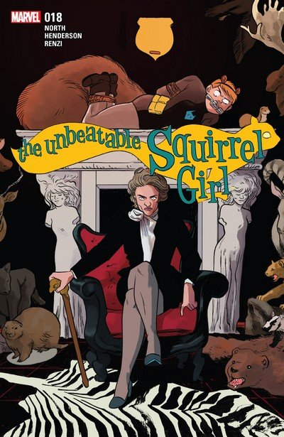 The Unbeatable Squirrel Girl #18 (2017)