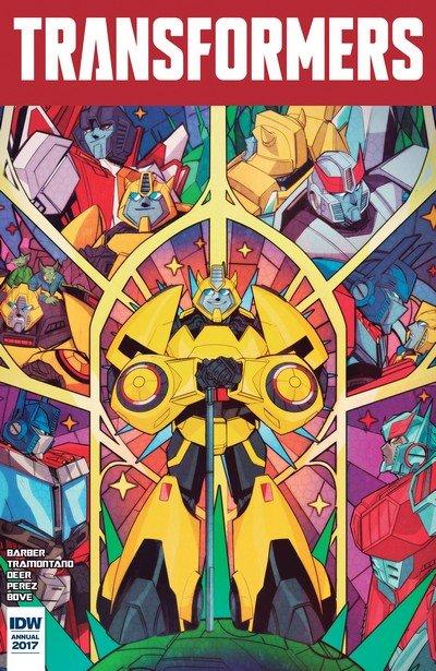 Transformers Annual 2017