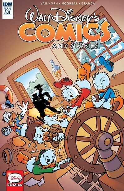 Walt Disney's Comics and Stories #737 (2017)