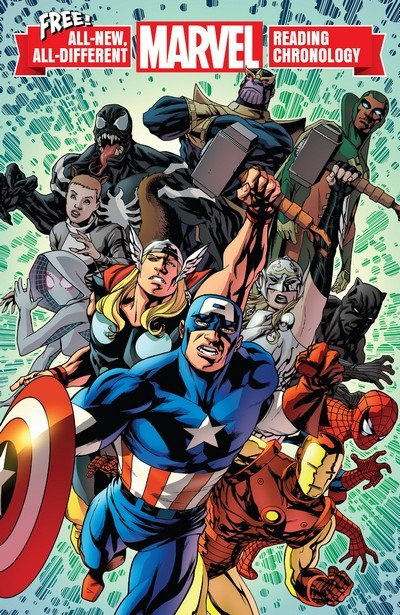 All-New, All-Different Marvel Reading Chronology #1 (2017)