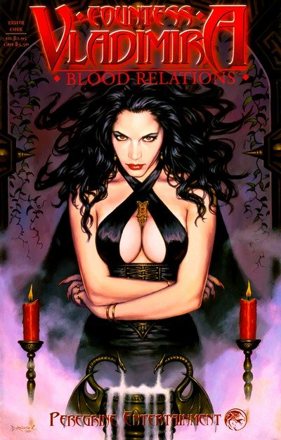 Countess Vladimira – Blood Relations #1 – 3 (1999-2000)