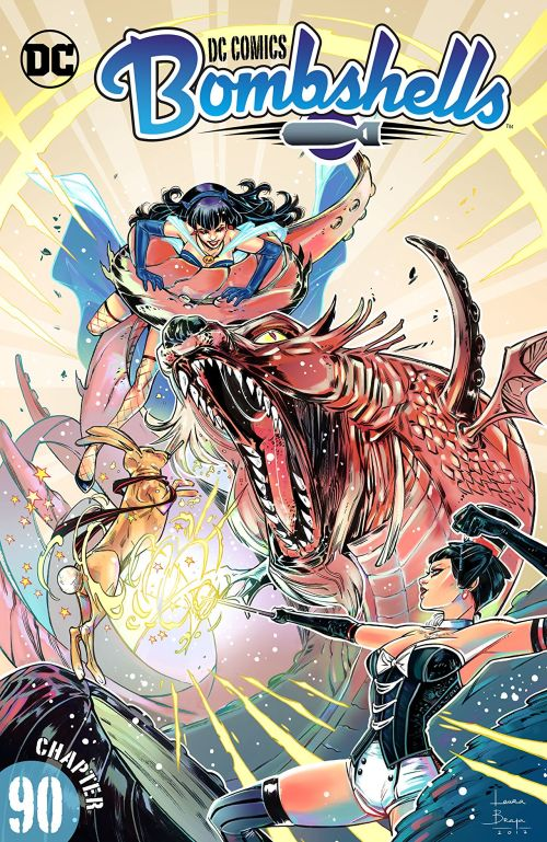 DC Comics – Bombshells #90 (2017)