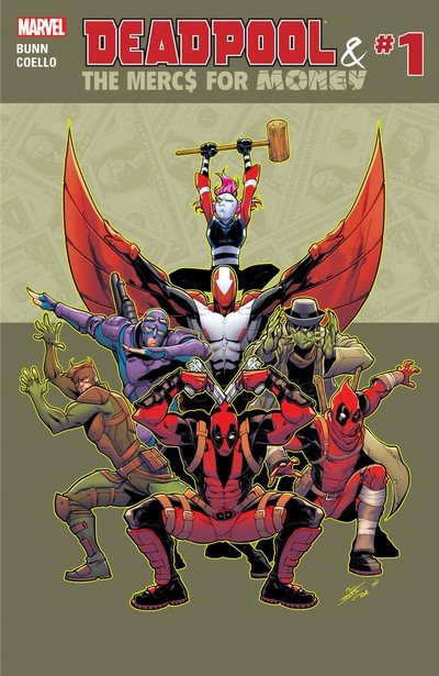 Deadpool & the Mercs for Money Vol. 2 #1 – 9 (2016-2017)