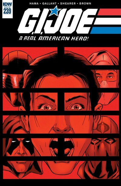 G.I. Joe – A Real American Hero #239 (2017)
