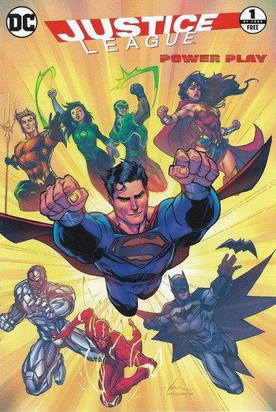 General Mills Presents Justice League #1 – 4 (2016)