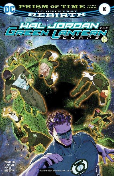 Hal Jordan and the Green Lantern Corps #18 (2017)