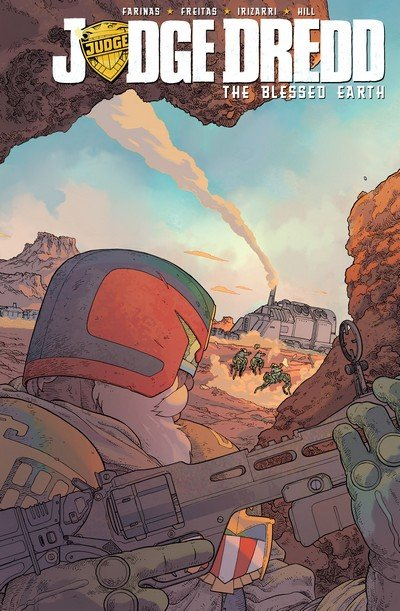 Judge Dredd – The Blessed Earth #1 (2017)