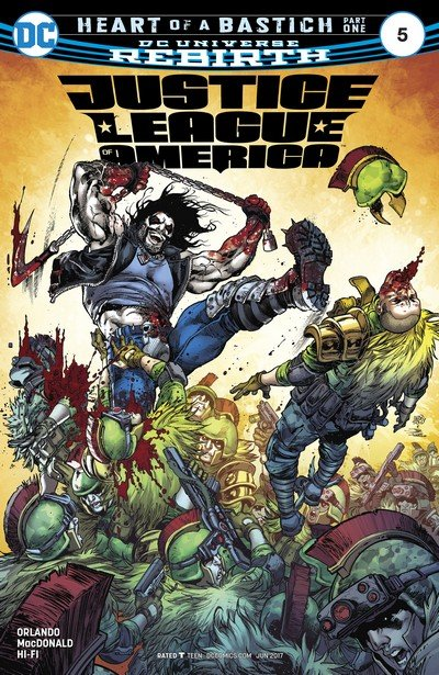 Justice League of America #5 (2017)