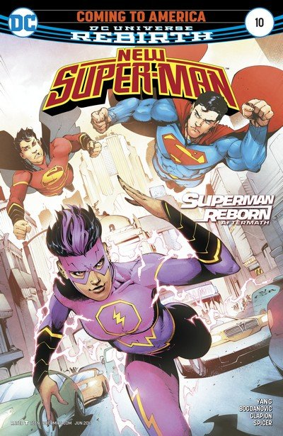 New Super-Man #10 (2017)