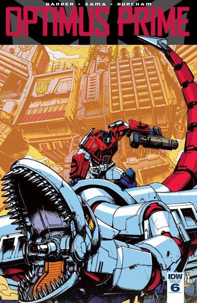 Optimus Prime #6 (2017)